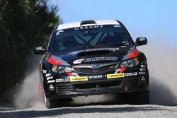 Sanjay Takale, Noriko Takeshita, Subaru Impreza WRX, Cusco Racing team