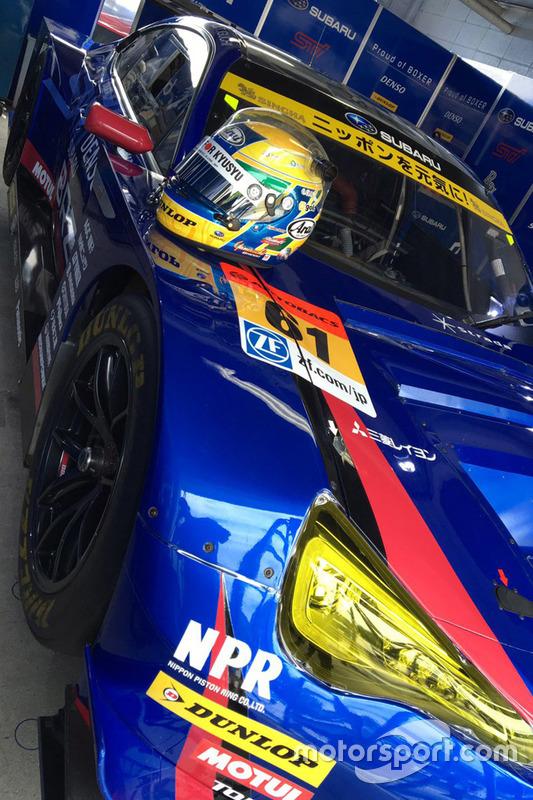 #61 R&D Sport, Subaru BRZ: Helm von Hideki Yamauchi