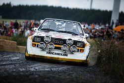 Klasik Audi ralli otomobili
