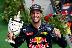 Podium : le troisième, Daniel Ricciardo, Red Bull Racing