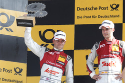 Podium: second place Jamie Green, Audi Sport Team Rosberg, Audi RS 5 DTM