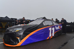 The car of Denny Hamlin, Joe Gibbs Racing Toyota