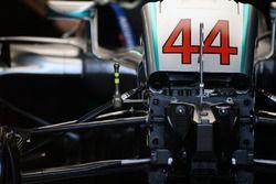 La Mercedes AMG F1 W07 Hybrid de Lewis Hamilton, Mercedes AMG F1