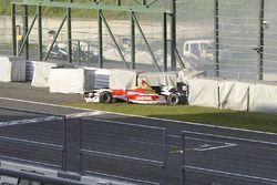 Naoki Yamamoto, Team Mugen crash