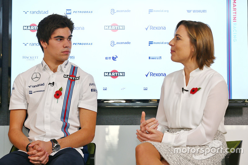 Lance Stroll, Claire Williams, Williams Team