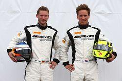 Maro Engel and Renger van der Zande, Mercedes-AMG Driving Academy