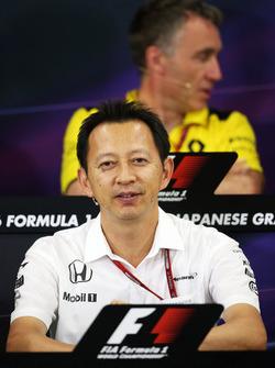 Pressekonferenz: Yusuke Hasegawa, Honda