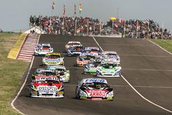 Guillermo Ortelli, JP Racing Chevrolet, Juan Martin Trucco, JMT Motorsport Dodge, Christian Ledesma,
