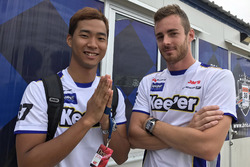 #37 Team Tom's, Lexus RC F: James Rossiter, Ryo Hirakawa