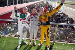Podyum: 1. José María López, Citroën World Touring Car Team, 2. Tom Coronel, Roal Motorsport, 3. Rob