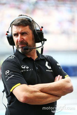Greg Baker, Renault Sport F1 Team Chief Mechanic