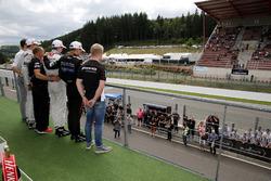 Podium, Harry Tincknell, FIA WEC Driver; George Russell, HitechGP, Dallara F312 – Mercedes-Benz; Joe