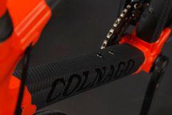 Dettaglio della bici Orange1 by Colnago dedicata alla 24 Ore di Spa
