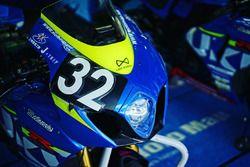 #32 Moto Map Supply Suzuki: Yoshihiro Konno, Joshua Waters, Nobuatsu Aoki