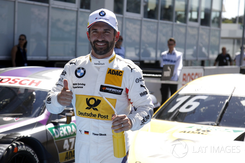 Pole position for Timo Glock, BMW Team RMG