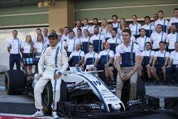 Felipe Massa, Williams and Paul di Resta, Williams at the Williams team photo