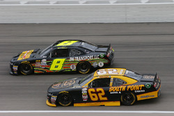 Brendan Gaughan, Richard Childress Racing Chevrolet and B.J. McLeod, BJ McLeod Motorsports Chevrolet