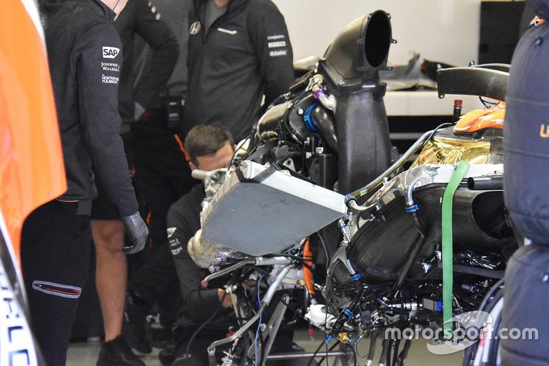 McLaren MCL32: Honda-Antriebseinheit