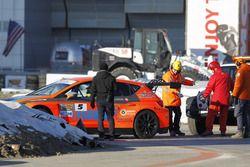 L'incidente di Alessandro Mazzolini, Seat Leon DSG TCR, Gr. Piloti Forlivesi
