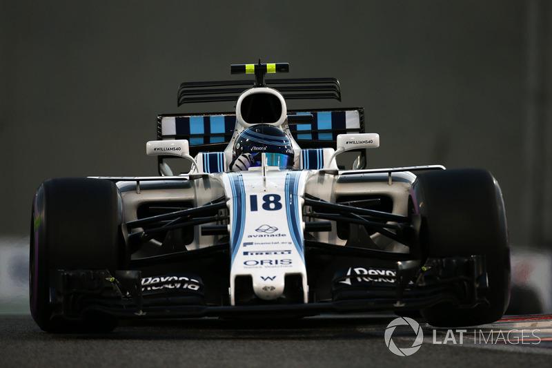 Lance Stroll, Williams FW40