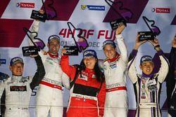 Winners Guy Cosmo, Patrick Byrne, Jackie Chan DC Racing x Jota Sport