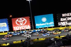 Denny Hamlin, Joe Gibbs Racing, Toyota Camry FedEx Express, Daniel Suarez, Joe Gibbs Racing, Toyota Camry ARRIS