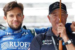 Carlos Munoz, Andretti Autosport Honda and father