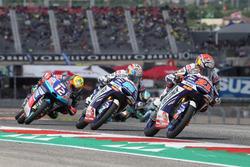 Fabio Di Giannantonio, Del Conca Gresini Racing Moto3, Jorge Martin, Del Conca Gresini Racing Moto3, Marco Bezzecchi, Prüstel GP
