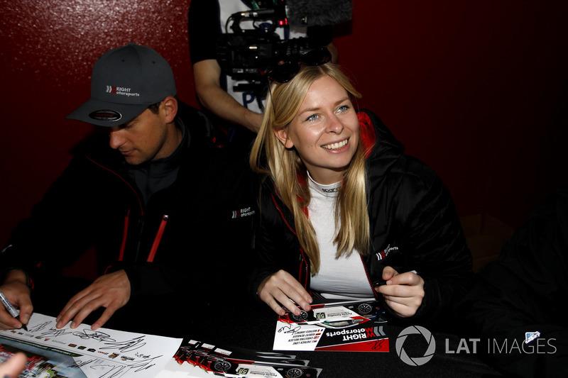 #58 Wright Motorsports Porsche 911 GT3 R: Christina Nielsen