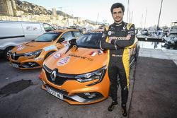 Carlos Sainz Jr., ouvreur avec la Renault Megane RS VIP