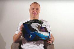 Valtteri Bottas, Mercedes AMG F1 presenta su nuevo casco