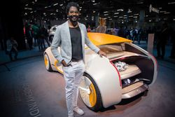 Aditya Mistri with Renault The Concept