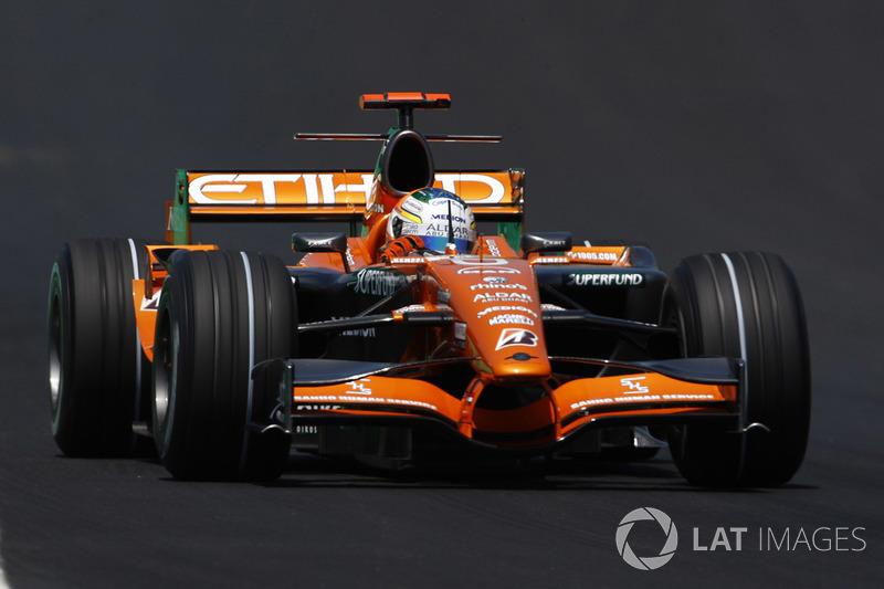 Adrian Sutil: 128 Grand Prix'nin 28'inden puanla ayrıldı