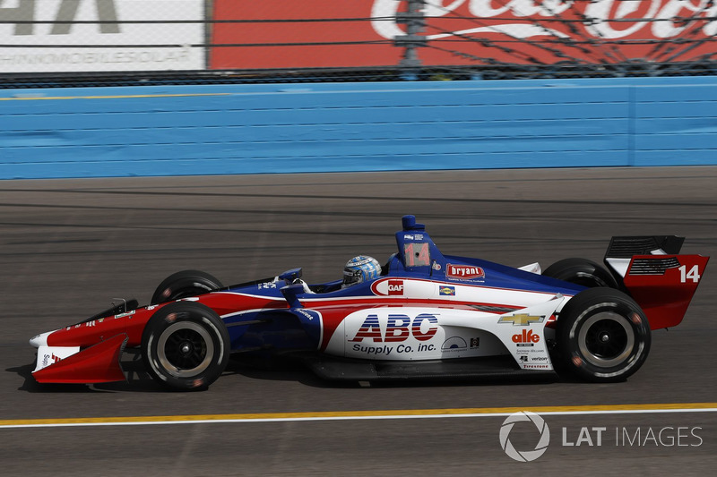 #14: Tony Kanaan, A.F. Foyt Racing, Chevrolet