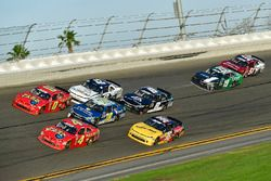 Ross Chastain, JD Motorsports, Flex Seal Chevrolet Camaro, Garrett Smithley, JD Motorsports, Flex Ta