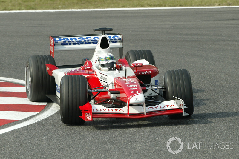 2002: Toyota TF102
