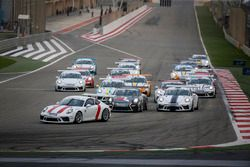 انطلاقة السباق، بورشه جي تي 3 الشرق الأوسط
