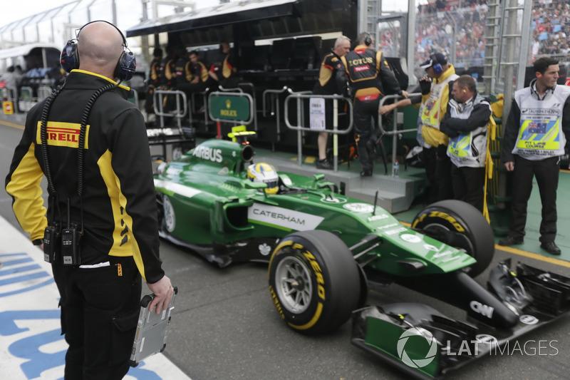 Marcus Ericsson - GP de Australia 2014 (Abandono)