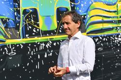 Alain Prost, conseiller spécial Renault Sport F1 Team