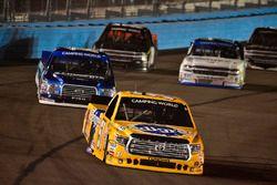 Todd Gilliland, Kyle Busch Motorsports Toyota, Austin Cindric, Brad Keselowski Racing Ford