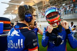 Brendon Hartley, Toro Rosso, in griglia