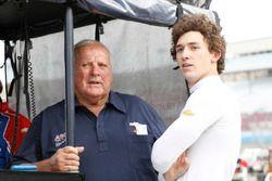 Matheus Leist, A.J. Foyt Enterprises Chevrolet with AJ Foyt