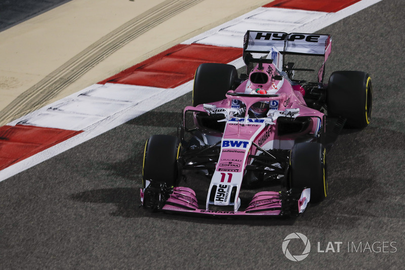 Sergio Pérez, Force India VJM11 Mercedes