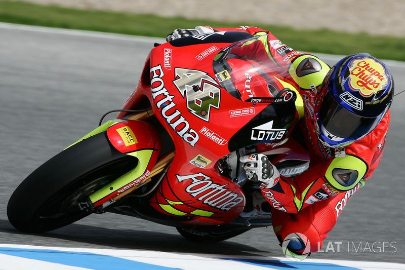 2006: 250cc (Moto2), Campeão - Jorge Lorenzo - Fortuna Aprilia