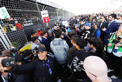 Actor Orlando Bloom on the grid