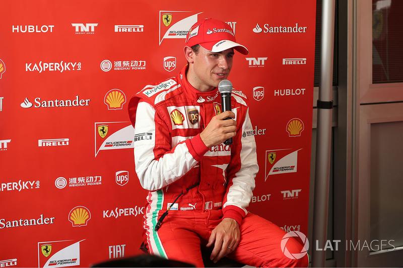 Davide Rigon, pilote d'essais Ferrari