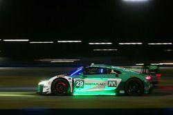 #29 Montaplast by Land-Motorsport Audi R8 LMS GT3: Christopher Mies, Sheldon van der Linde, Jeffrey