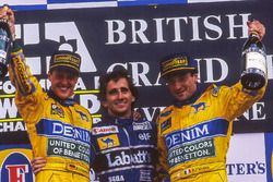 Podium: 1. Alain Prost, Williams; 2. Michael Schumacher, Benetton; 3. Ricardo Patrese, Benetton