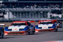 Steve Millen, Johnny O'Connell, John Morton, Cunningham Racing Nissan 300ZX, Paul Gentilozzi, Scott
