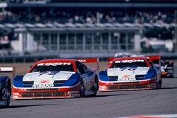 Steve Millen, Johnny O'Connell, John Morton, Cunningham Racing Nissan 300ZX, Paul Gentilozzi, Scott